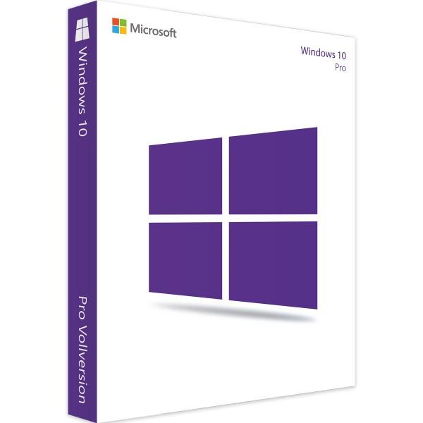 Windows 10 Pro | 32/64 Bit | 1PC | Sofortdownload