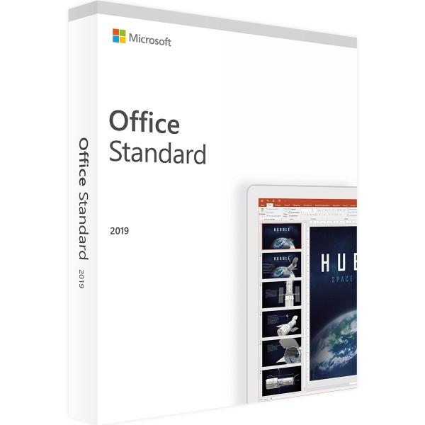Microsoft Office 2019 Standard | für Windows 1 - 5 Geräte