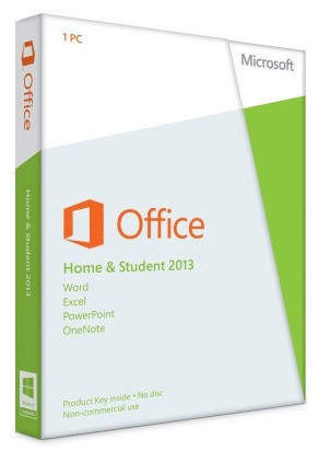 Microsoft Office 2013 Home and Student   für Windows