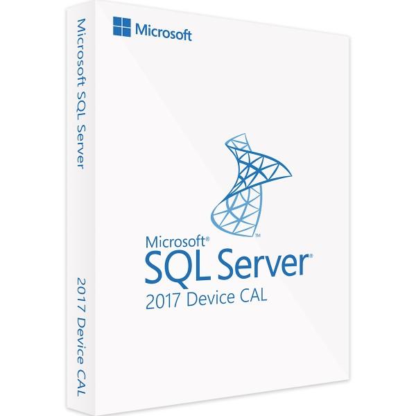 Microsoft SQL Server 2017 Device CAL