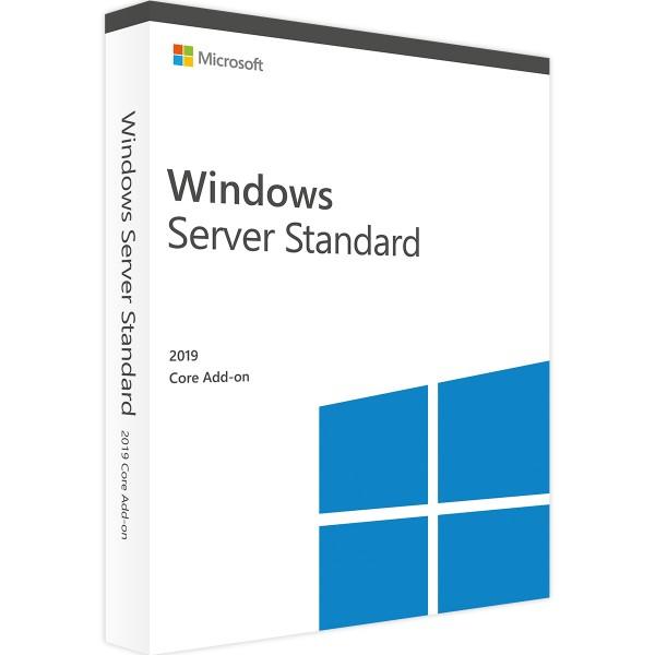 Windows Server 2019 Standard Core Add-on-Erweiterungslizenz