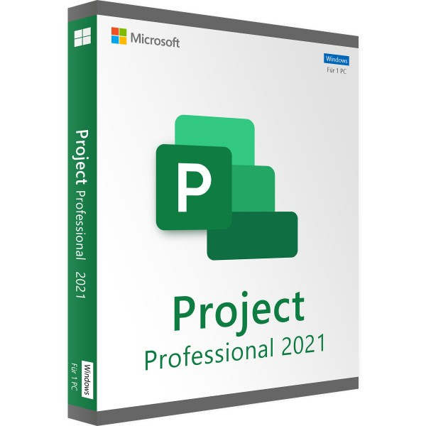 Microsoft Project 2021 Professional | für Windows