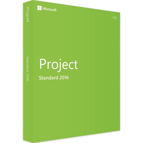 Microsoft Project 2016 Standard | für Windows-Copy EN-ESD