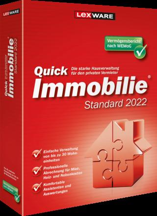Lexware QuickImmobilie Standard 2022 | für Windows