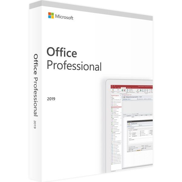 Microsoft Office 2019 Professional | für Windows - Retail