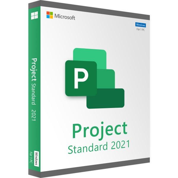 Microsoft Project 2021 Standard   für Windows