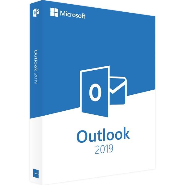 Microsoft Outlook 2019 | für Windows | 32/64 Bit | 1PC | Sofortdownload