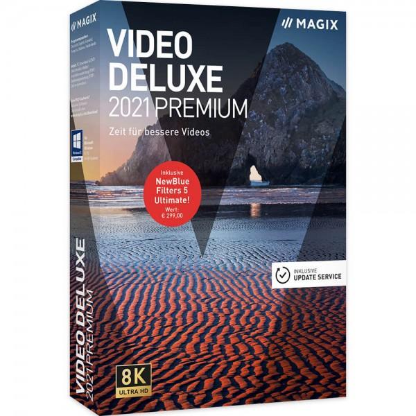 Magix Video Deluxe 2021 Premium | für Windows
