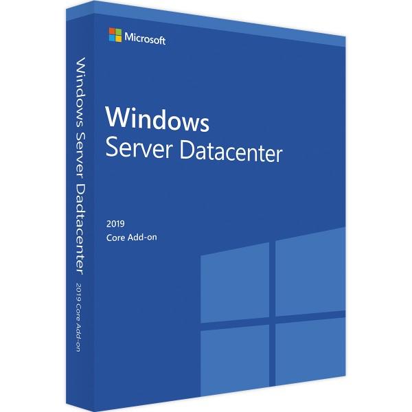Windows Server 2019 Datacenter Core Add-on-Erweiterungslizenz