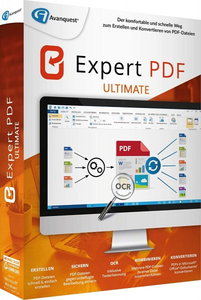 Avanquest Expert PDF 14 Ultimate | für Windows
