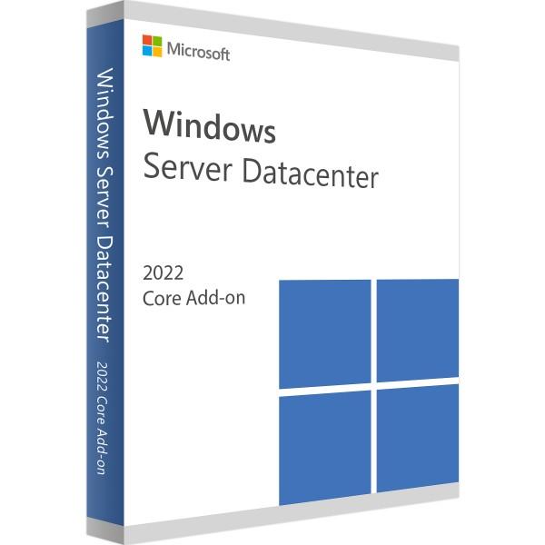 Windows Server 2022 Datacenter Core Add-on-Erweiterungslizenz