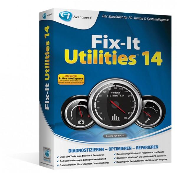 Fix-It Utilities 14   für Windows