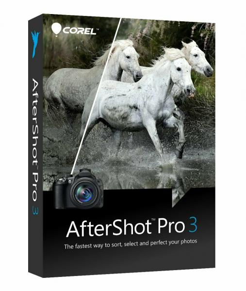 Corel AfterShot Pro 3 DE/ML Windows/Mac/Linux