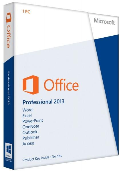 Microsoft Office 2013 Professional [Plus] | für Windows | ESD | Sofortdownload