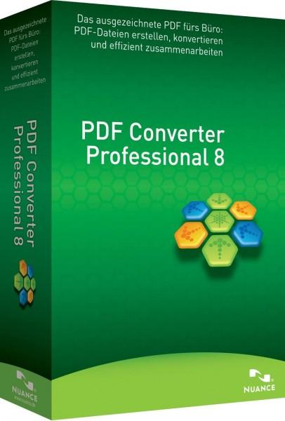 Nuance PDF Converter Professional 8