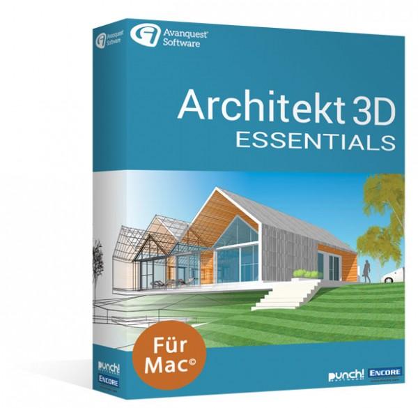 Avanquest Architekt 3D 20 Essentials   für MAC