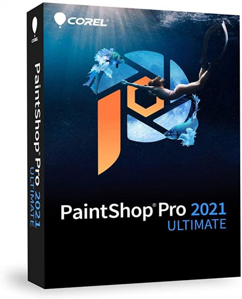 Corel PaintShop Pro 2021 Ultimate | für Windows