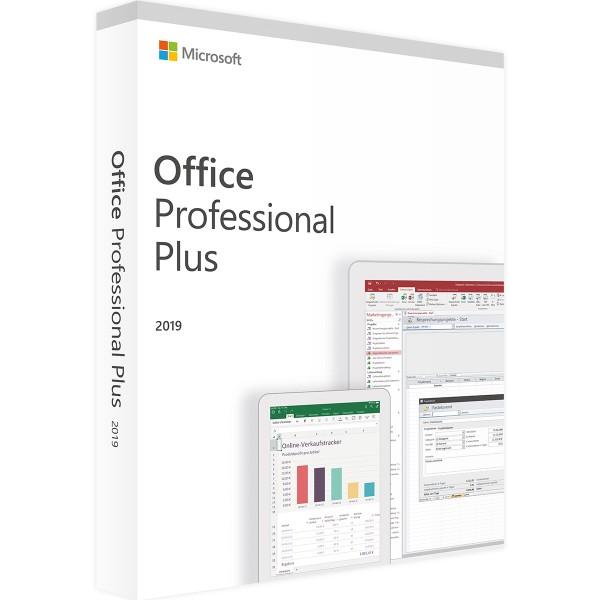 Microsoft Office 2019 Professional Plus | für Windows - Accountgebunden