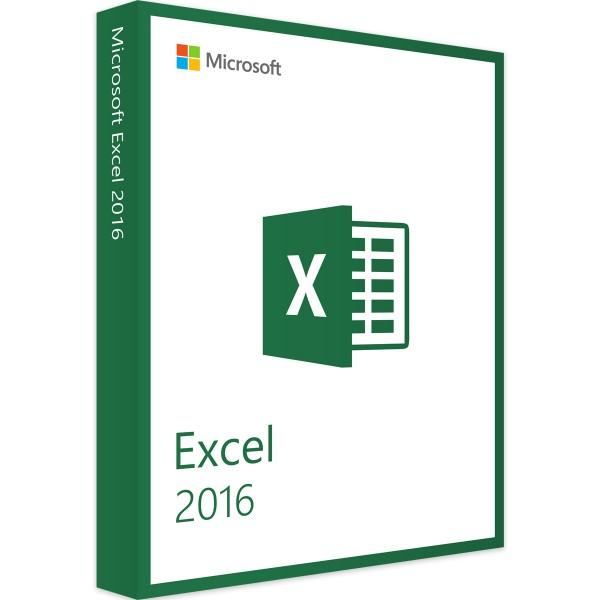 Microsoft Excel 2016 | für Windows | 32/64 Bit | 1PC | Sofortdownload