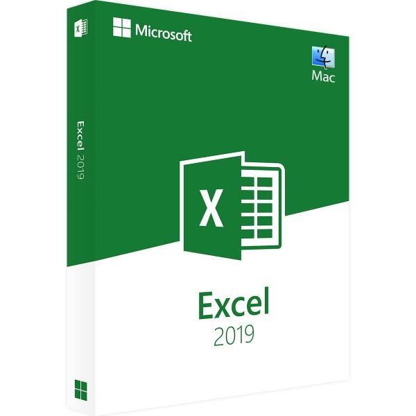 Microsoft Excel 2019   für Mac