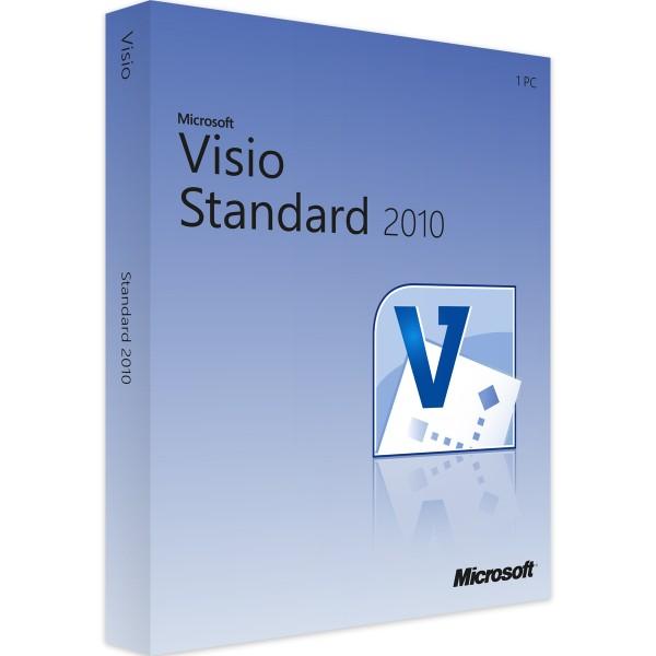 Microsoft Visio 2010 Standard | für Windows