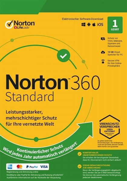 Norton Security 360   2021   Multi Device   kein Abo
