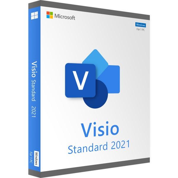 Microsoft Visio 2021 Standard   für Windows