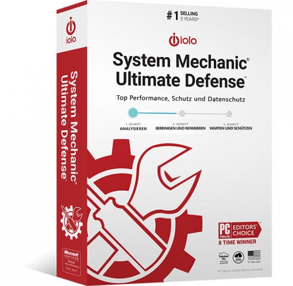 iolo System Mechanic Ultimate Defense 21 | für Windows