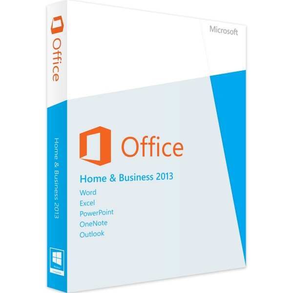 Microsoft Office 2013 Home and Business   für Windows