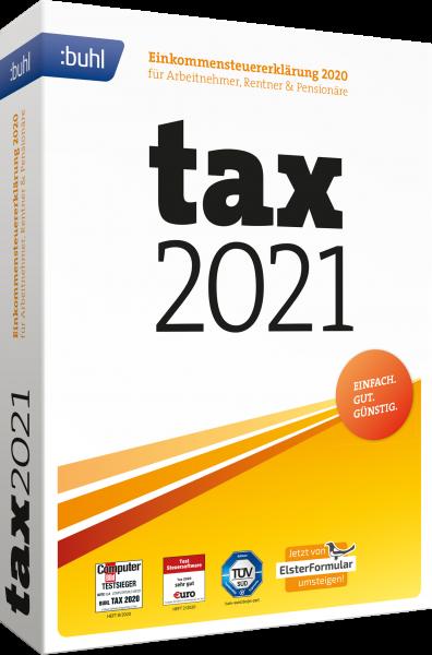 WISO Tax 2021 Steuerjahr 2020   für Windows