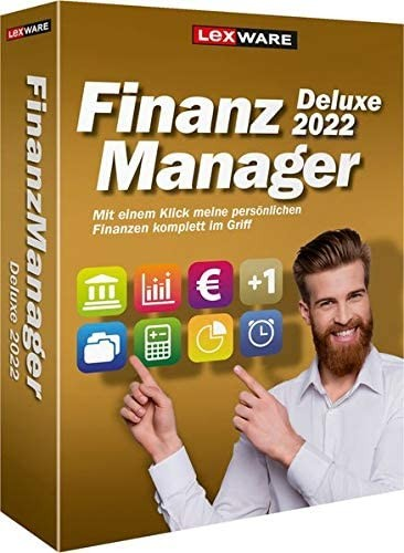 Lexware FinanzManager Deluxe 2022   365 Tage