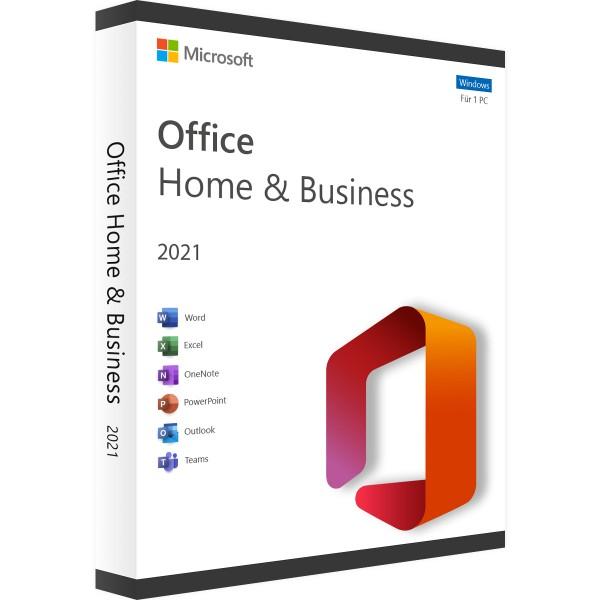 Microsoft Office 2021 Home and Business | für Windows | Accountgebunden