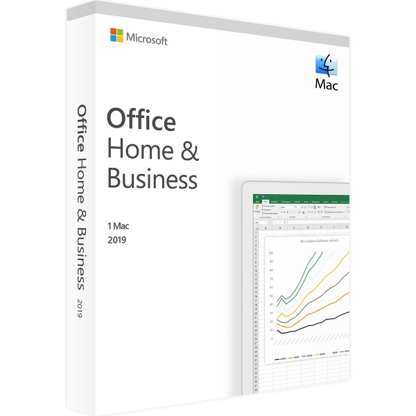Microsoft Office 2019 Home and Business   für Mac