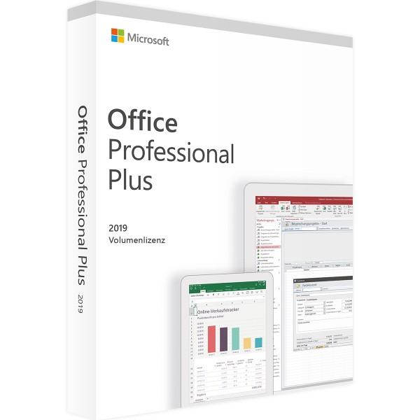 Microsoft Office 2019 Professional Plus | für Windows - Volumenlizenz