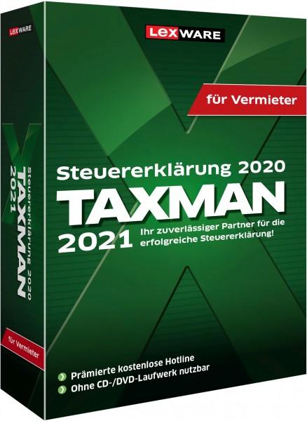 Lexware TAXMAN 2021 für Vermieter | für Windows