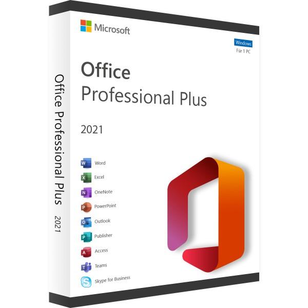 Microsoft Office 2021 Professional Plus | für Windows - Volumenlizenz