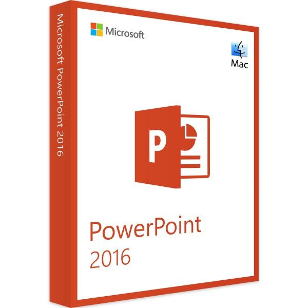 Microsoft PowerPoint 2016   für Mac