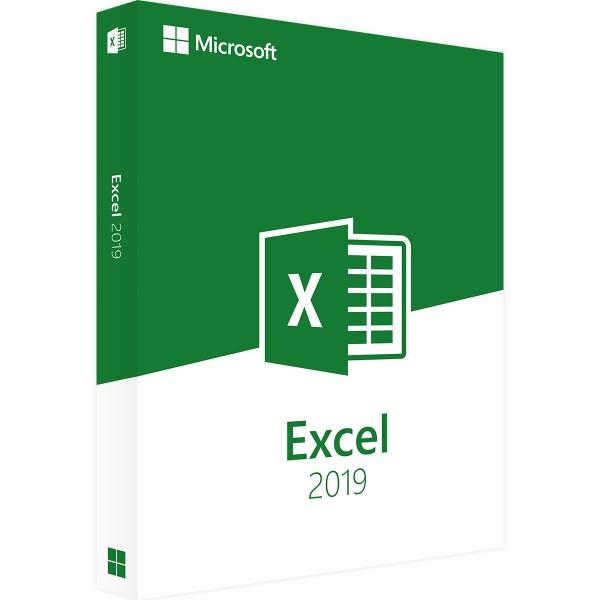 Microsoft Excel 2019 | für Windows | 32/64 Bit | 1PC | Sofortdownload