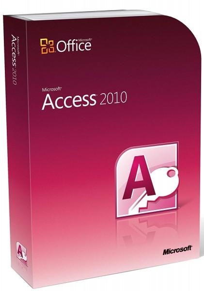 Microsoft Access 2010   für Windows   32/64 Bit   1PC   Sofortdownload