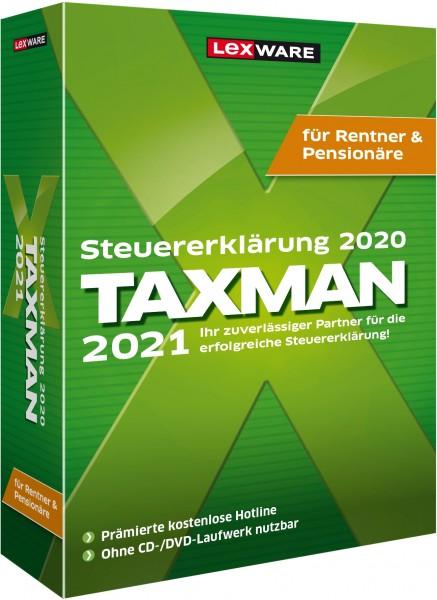 Lexware TAXMAN 2021 für Rentner und Pensionäre   für Windows
