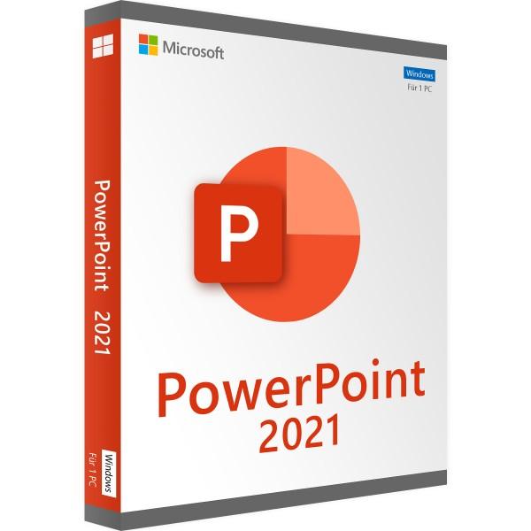 Microsoft PowerPoint 2021   für Windows