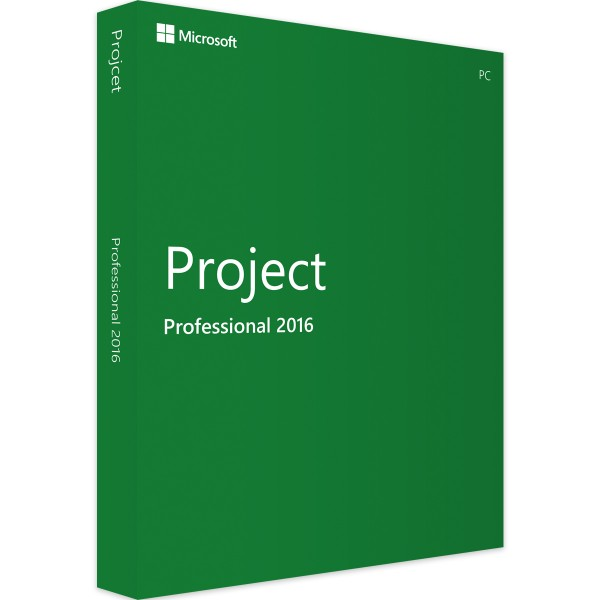 Microsoft Project 2016 Professional | für Windows