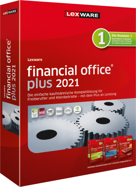 Lexware Financial Office Plus 2021   365 Tage