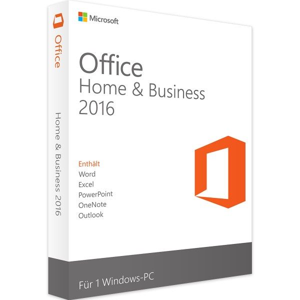 Microsoft Office 2016 Home and Business | für Windows