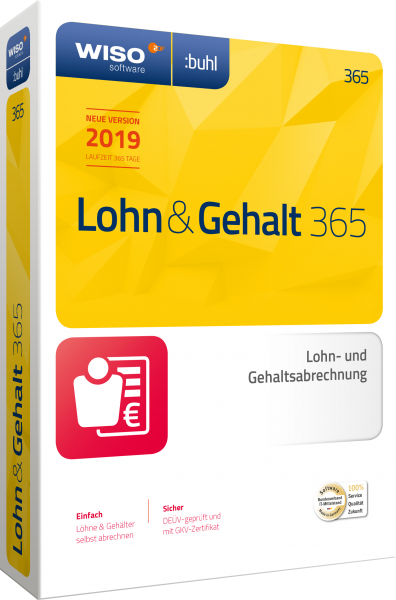 WISO Lohn & Gehalt 365 | für Windows