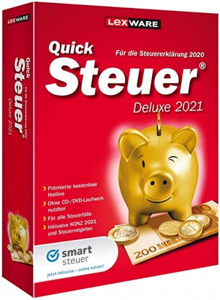 Lexware Quicksteuer Deluxe 2021 | für Windows