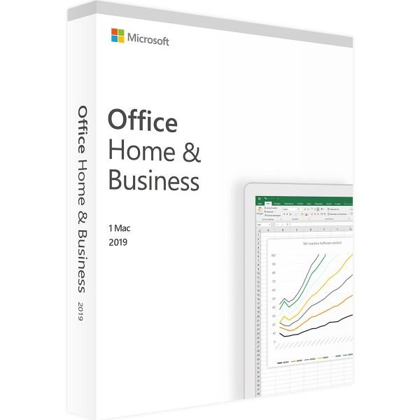 Microsoft Office 2019 Home and Business | für Mac | Accountgebunden