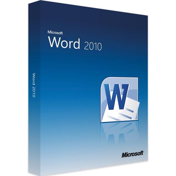 Microsoft Word 2010 | für Windows | 32/64 Bit | 1PC | Sofortdownload