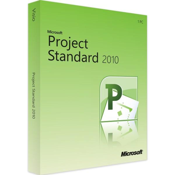 Microsoft Project 2010 Standard   für Windows