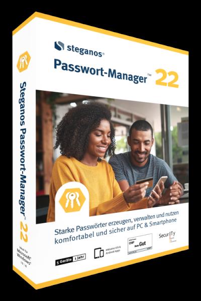 Steganos Passwort Manager 22